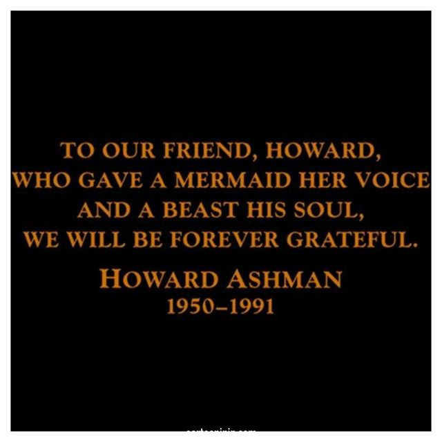 Unfortunately, Howard Ashman did not live long enough to see Beauty and the Beast make it into theatres. His work, however, did make it into the animated movie as well as the musical. You can also hear some of his songs in both the Aladdin animated movie and musical.  Find out more about the dynamic duo of Alan Menken and Howard Ashman in our episode dedicated solely to them: cartooninin.com/episodes/ashmanmenken . . . . #didyouknow #movietrivia #musicaltrivia #musicaltheatre #howardashman #alanmenken #disney #disneytrivia #disneygram #disneylovers #music #composing #theatre  #podcast  #thelittlemermaid #beautyandthebeast #aladdin