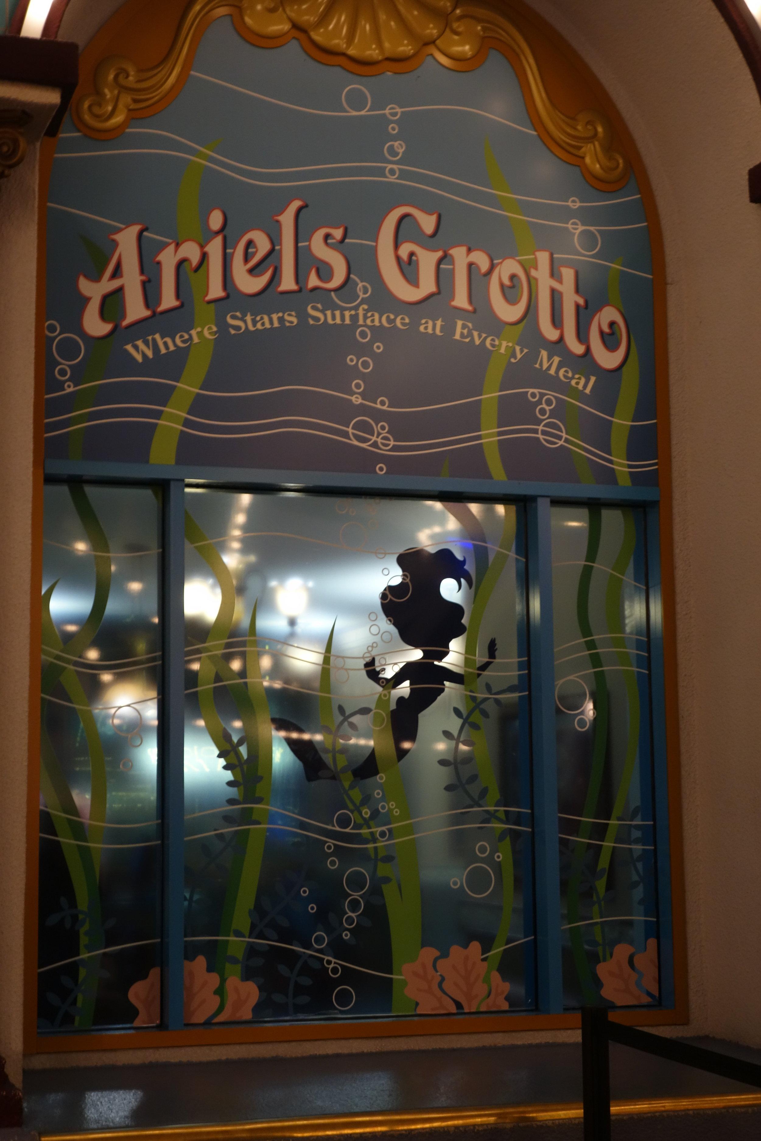 Window in Ariel's Grotto