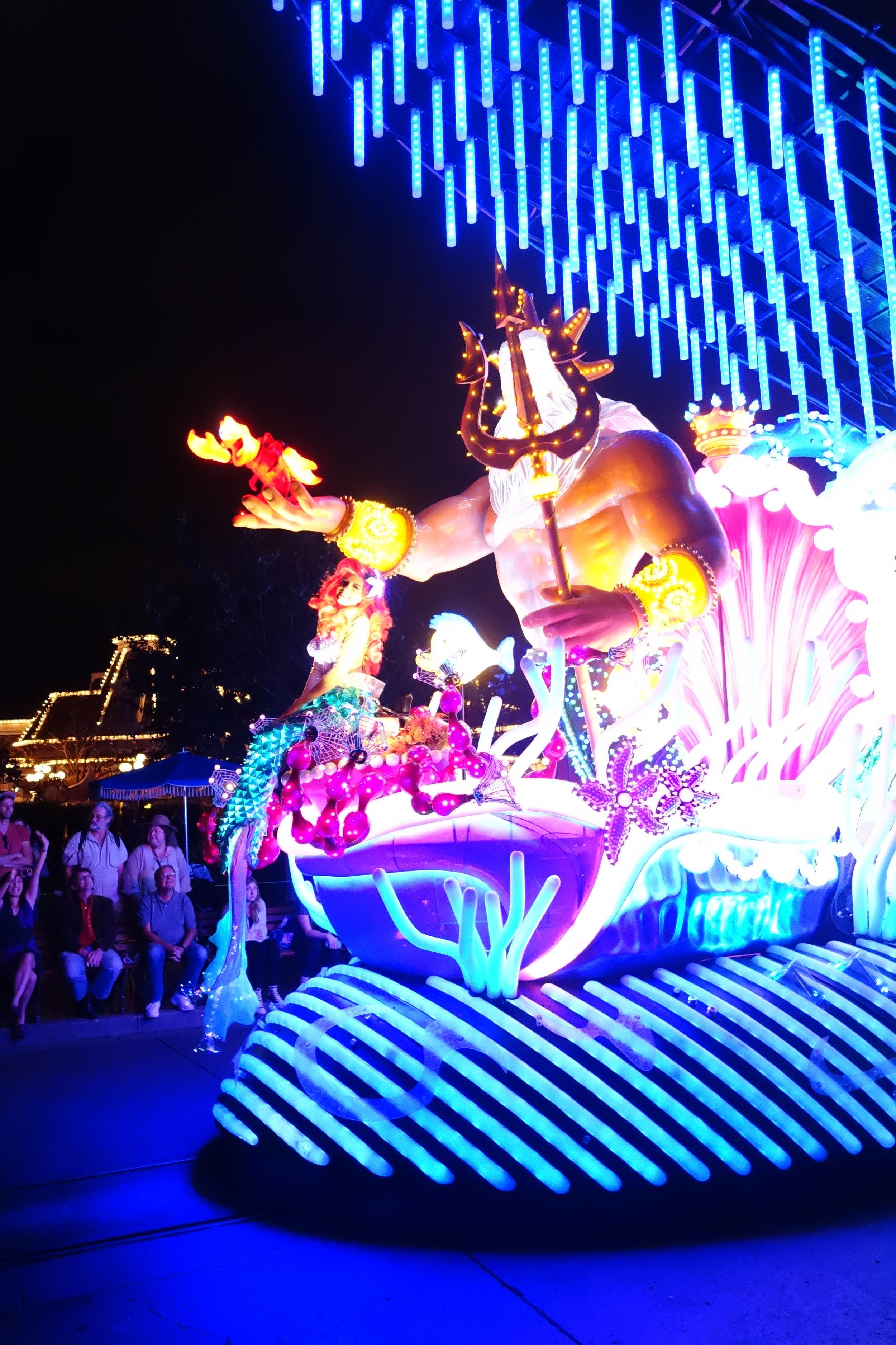 Paint the Night Parade Ariel Float (OG)