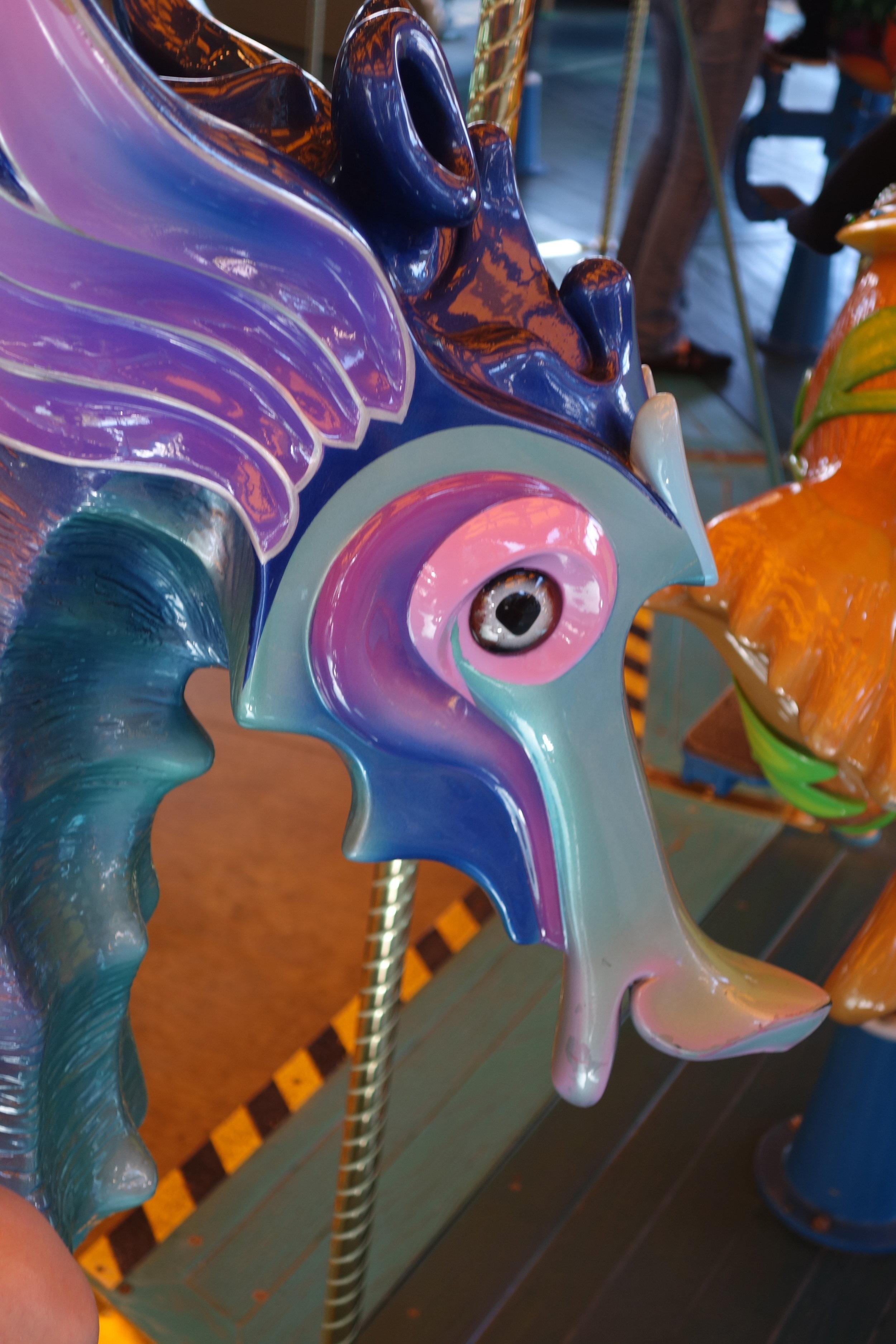 A Seahorse on Triton's Carousal