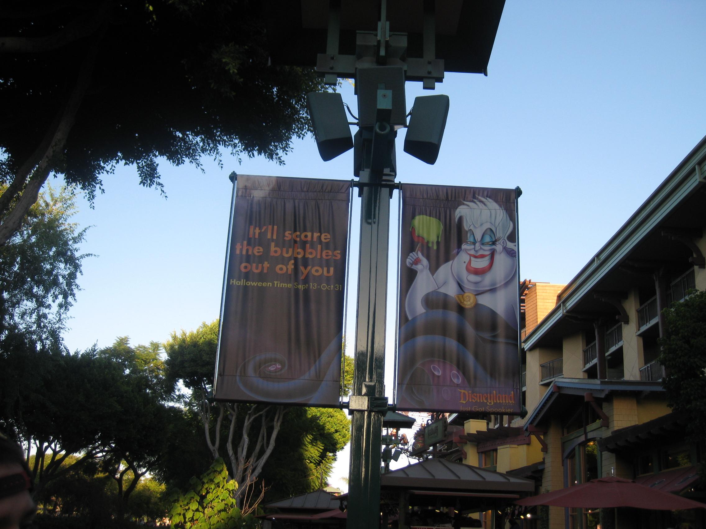 Ursula Banner at Halloween