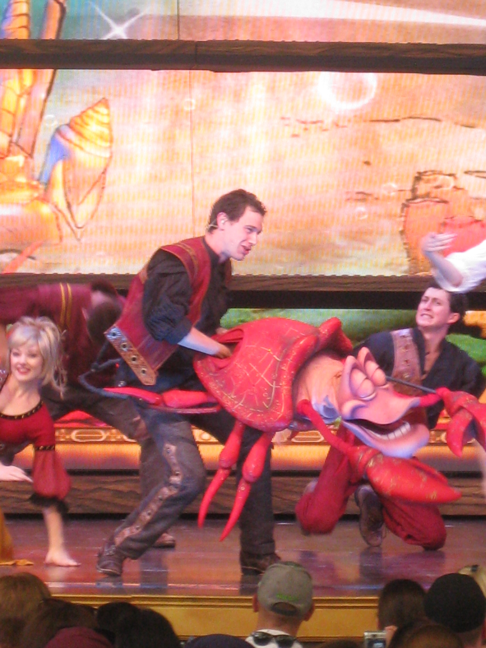 Under the Sea during Mickey's Magical Map