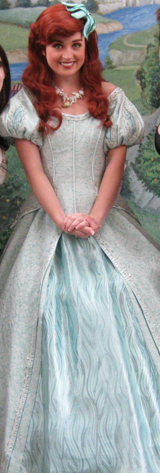 Ariel at the Princess Meet N' Greet in Disneyland (2009)