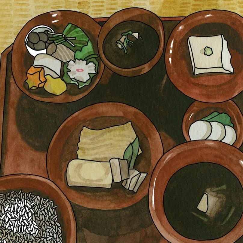 Shojin Ryori (a Zen Buddhist feast)
