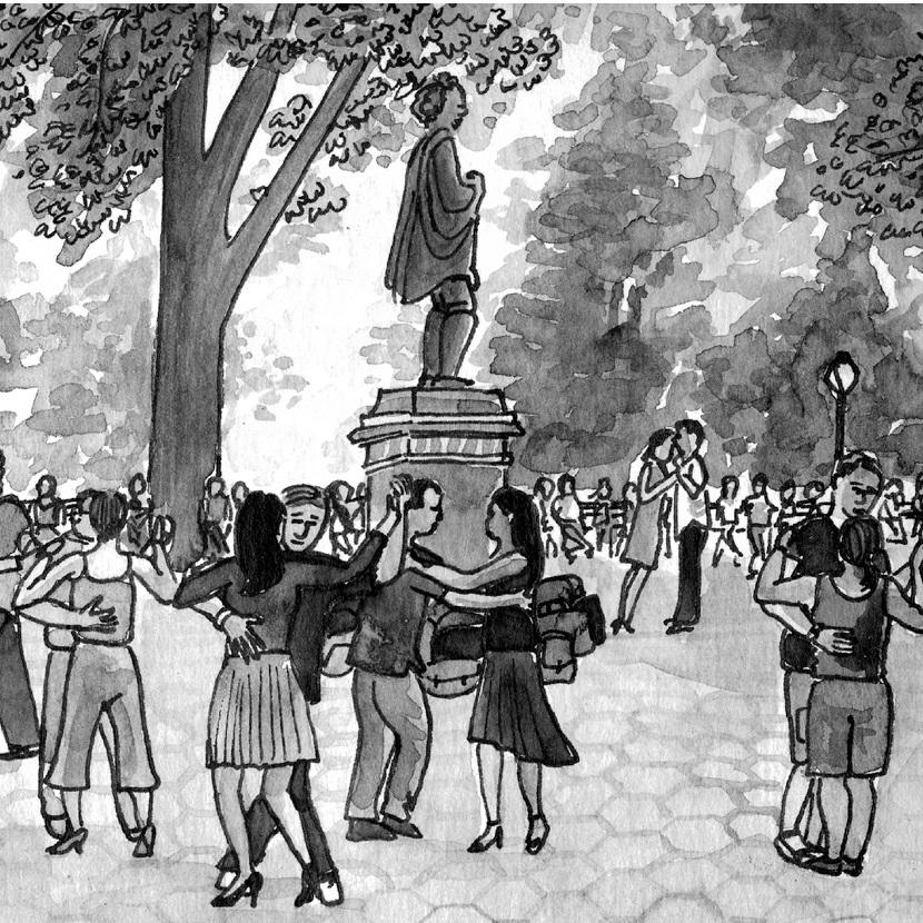 NY Japion: Tango in the Park