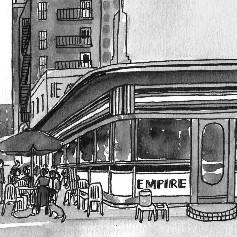NY Japion: Empire Diner