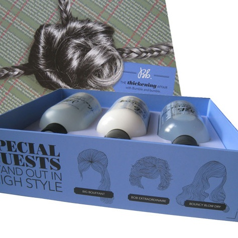 Bumble and bumble: Holiday Hair Packaging