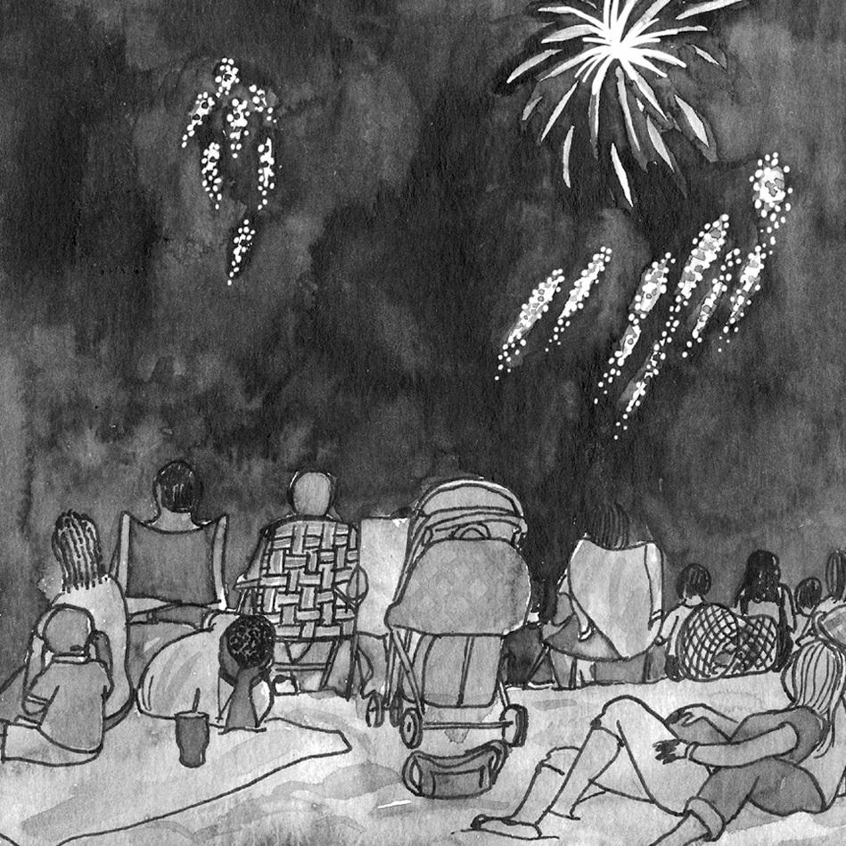 NY Japion: Fireworks at Coney Island
