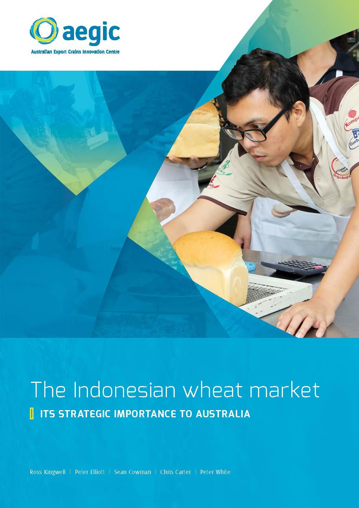 The Indonesian wheat market - its strategic importance to Australia