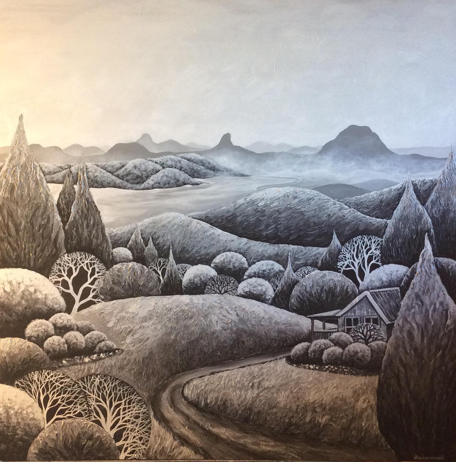 - Mist Adrift 102 x 102cm (SOLD)