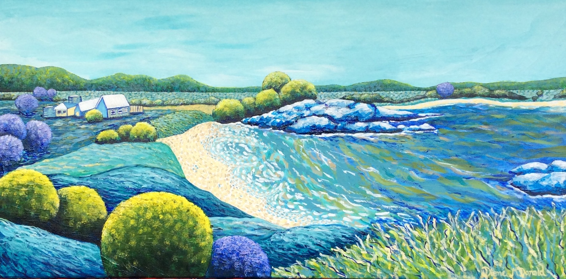 - Bay of Dreams 45 x 91cm (SOLD)