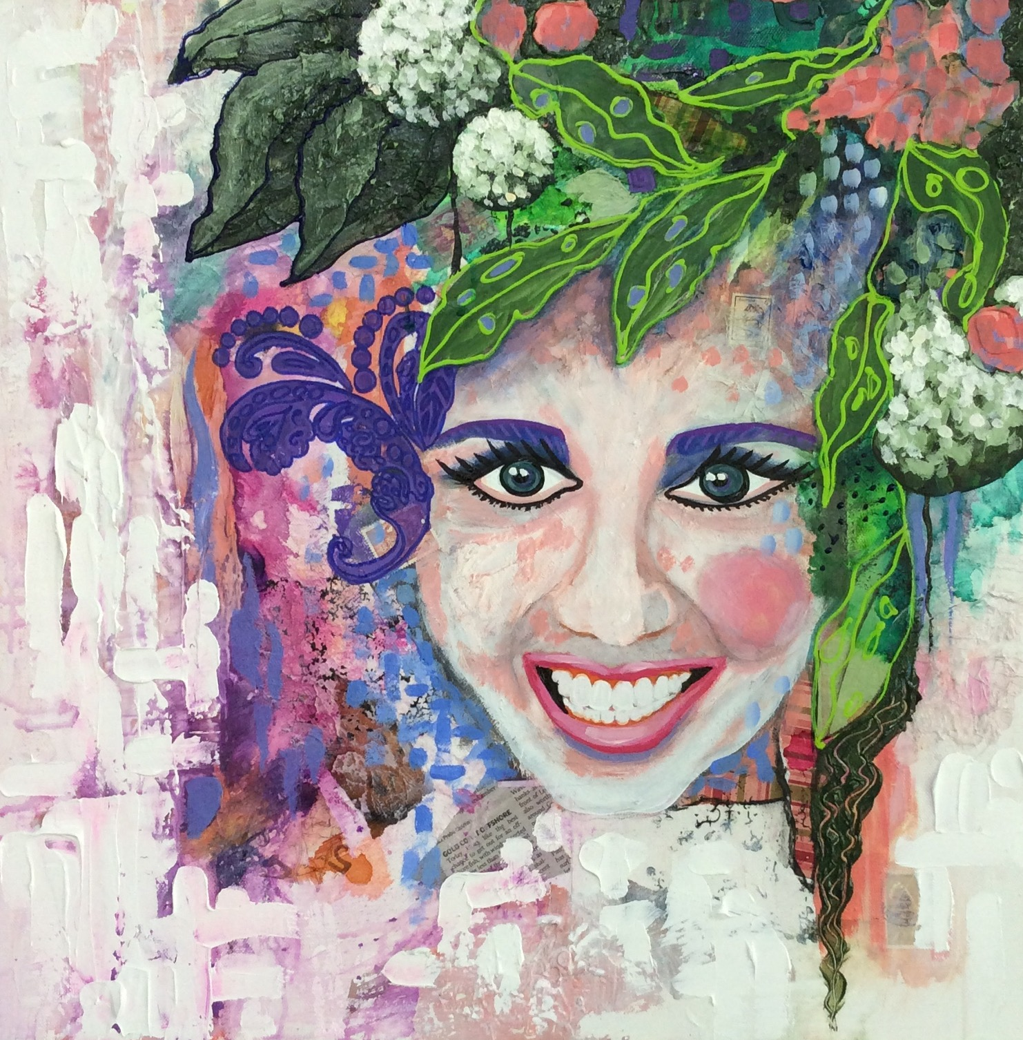 - Didi-A Self Portrait 51 x 51cm $320