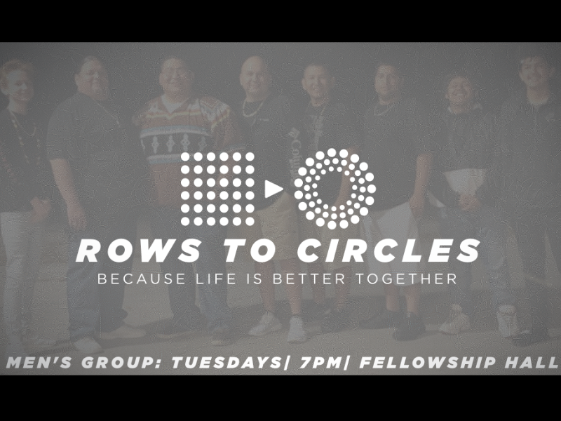 Men's Group Meets every Tuesday at 7pm