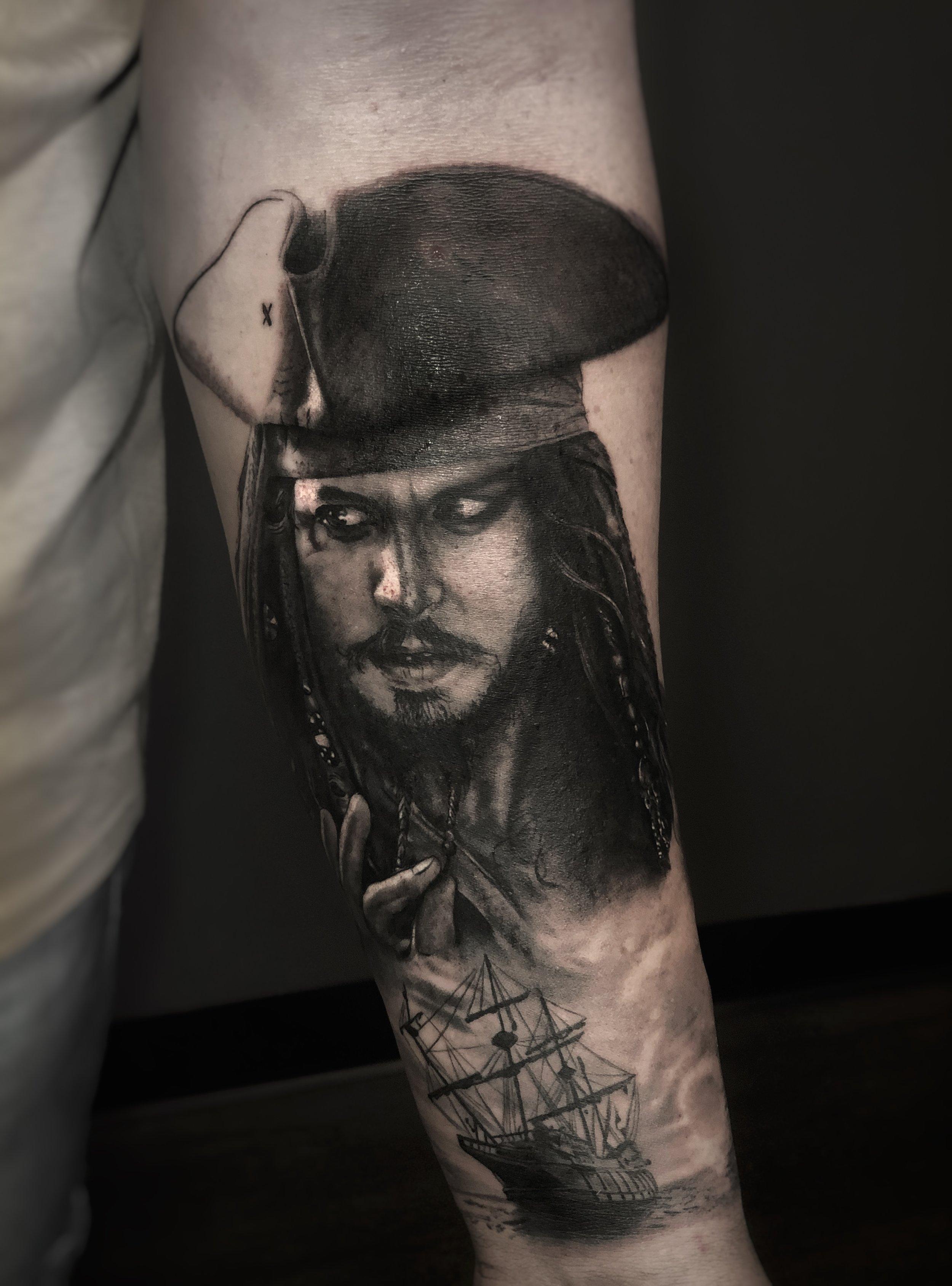 Jack Sparrow Portrait