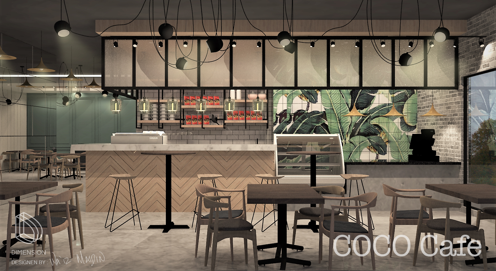 Coco café - by Wa'iz Maidin