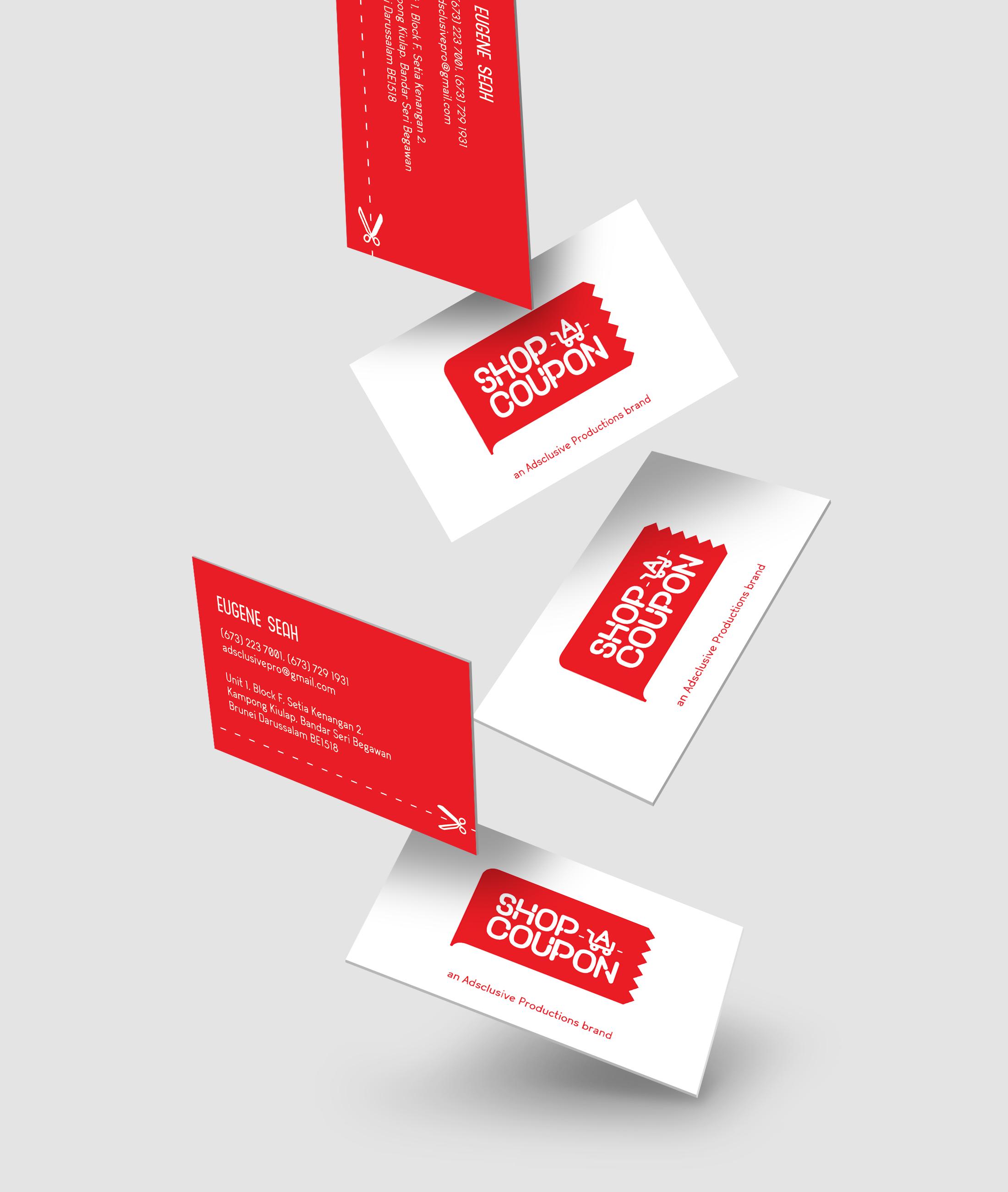SHOP-A-COUPON   Branding