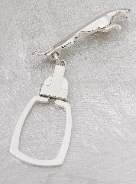 Eurostyle rectangular key ring with custom medallion   22-2600