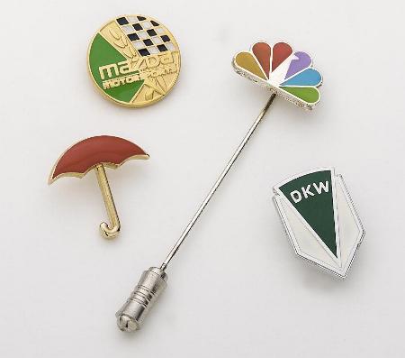 Die Struck Cloisonne Lapel Pins - Made in USA