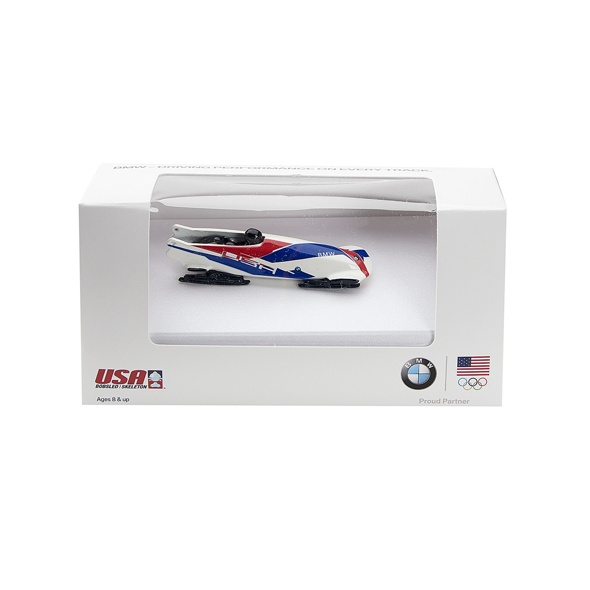 Model Bobsled Gifts in Custom Packaging for BMW