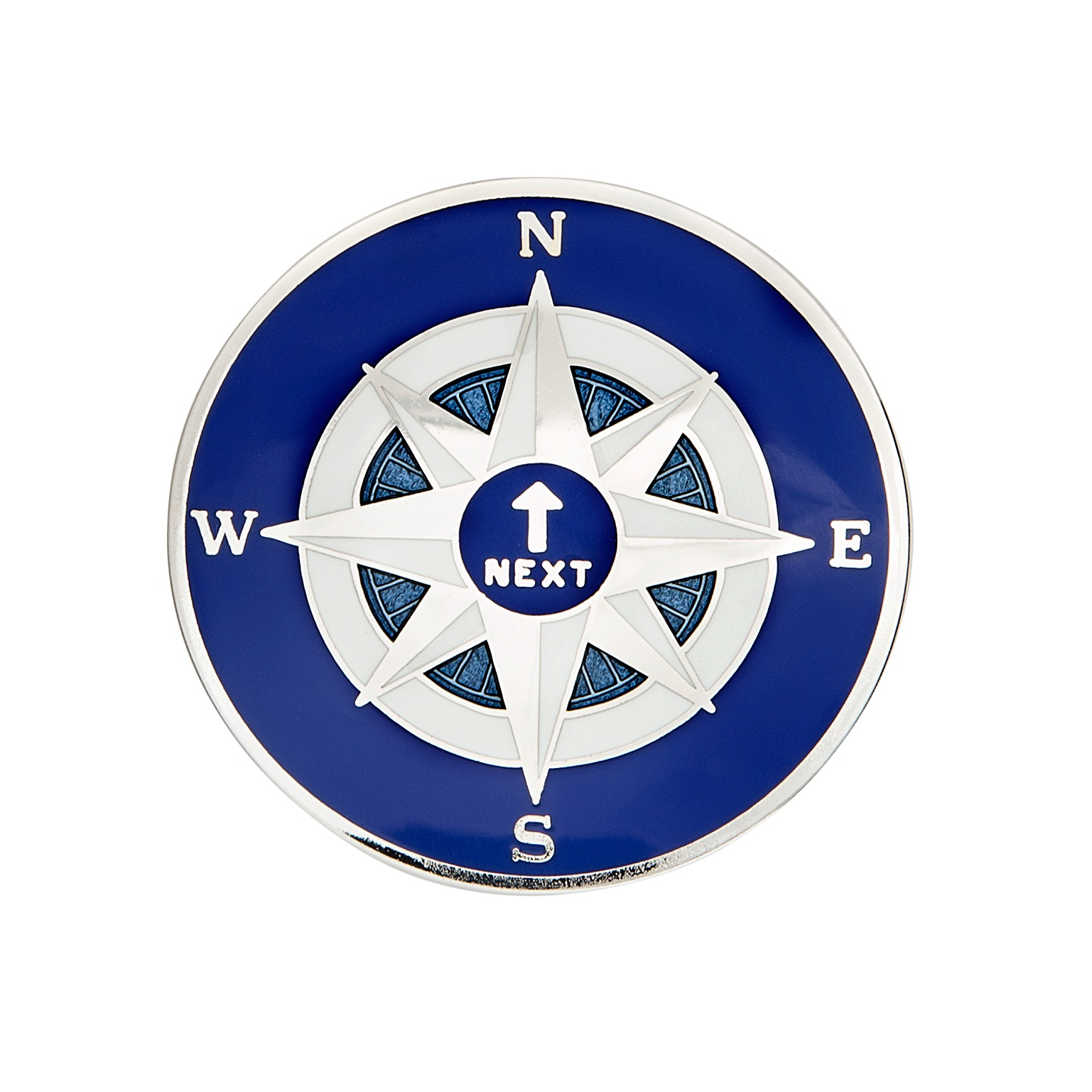 """Compass Coin with our specialty """"Spinner"""" design"""