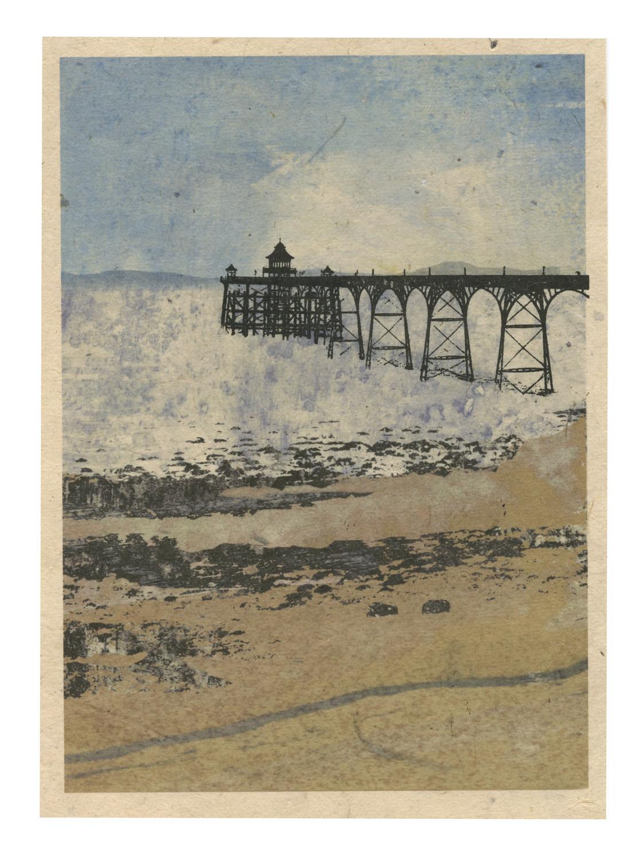 Clevedon_pier-gocco_print