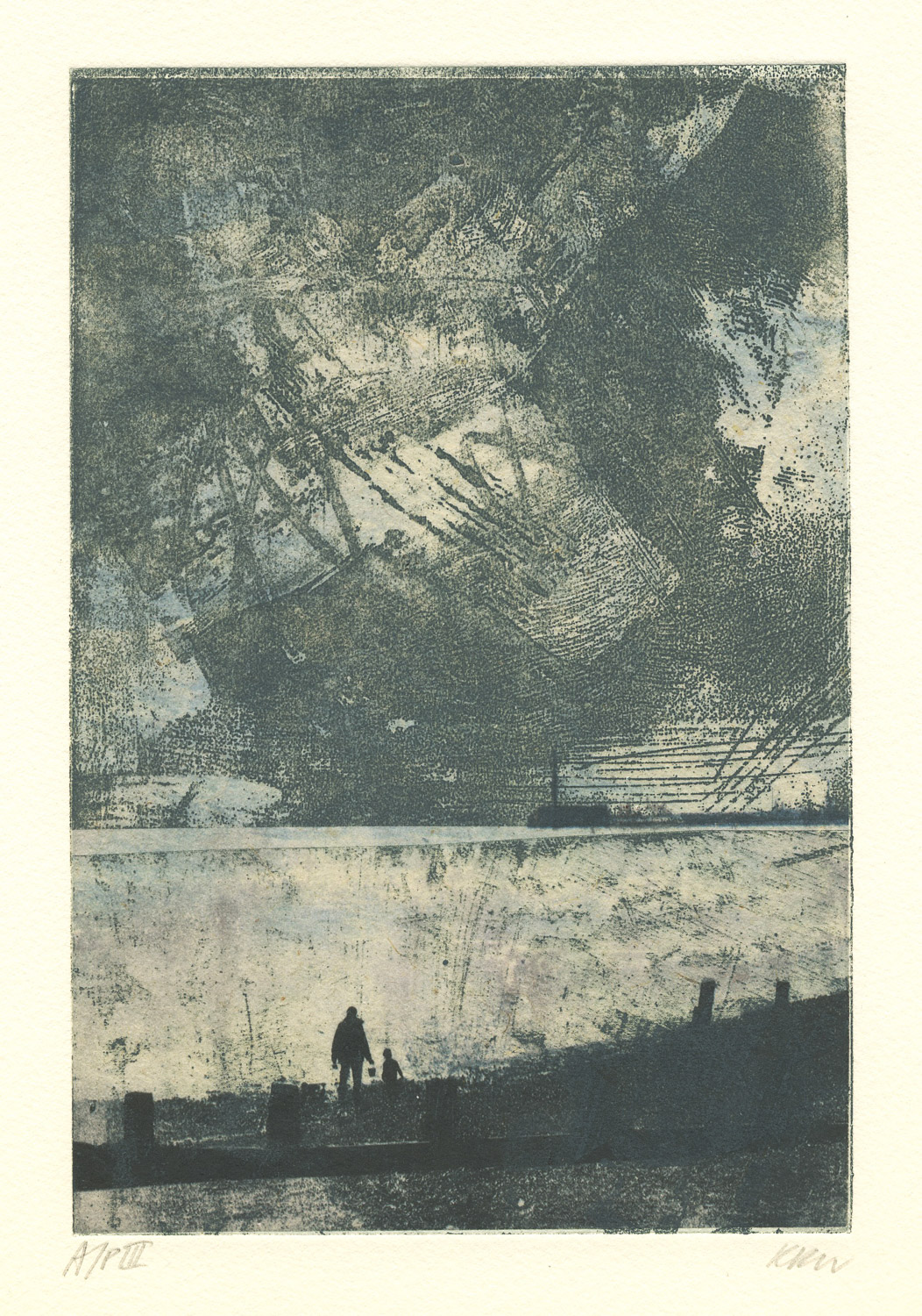 Confluence_II_beach_fawley-etching_chine_colle