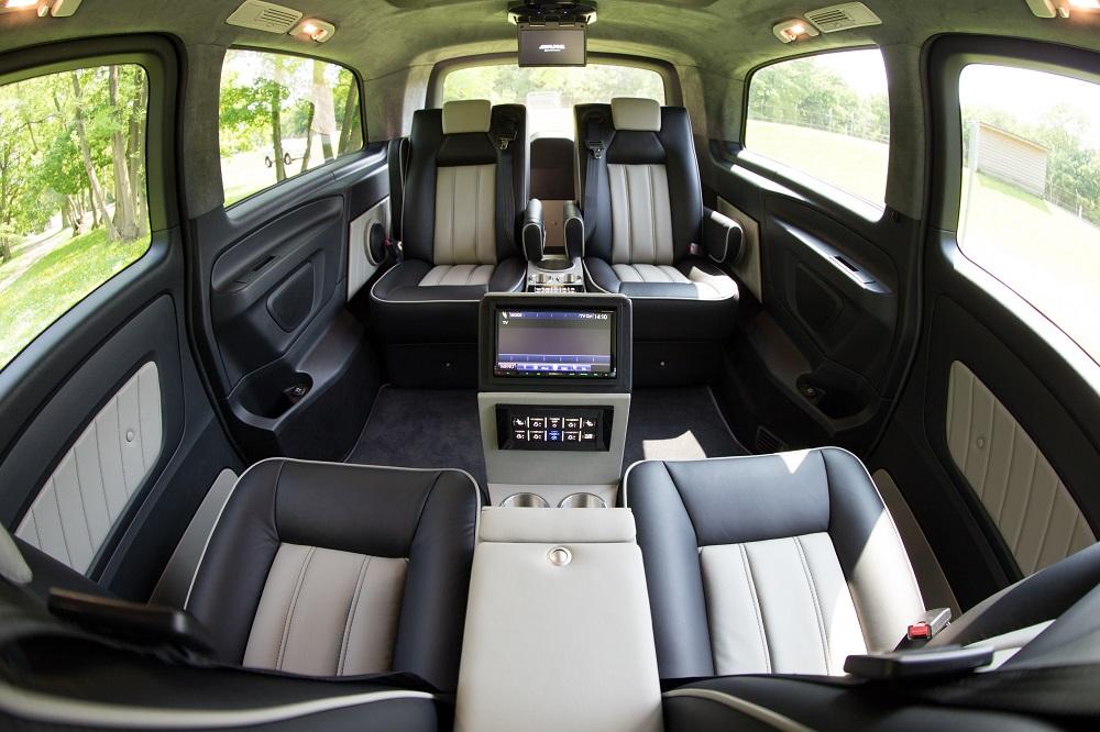 Converted Mercedes V-class