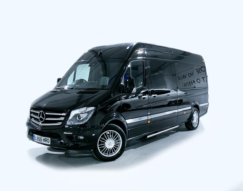 Luxury Mercedes Sprinter