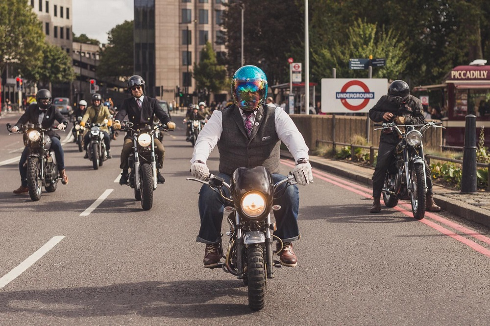 Monaco by Stanford are taking part in the Distinguished Gentlemens ride