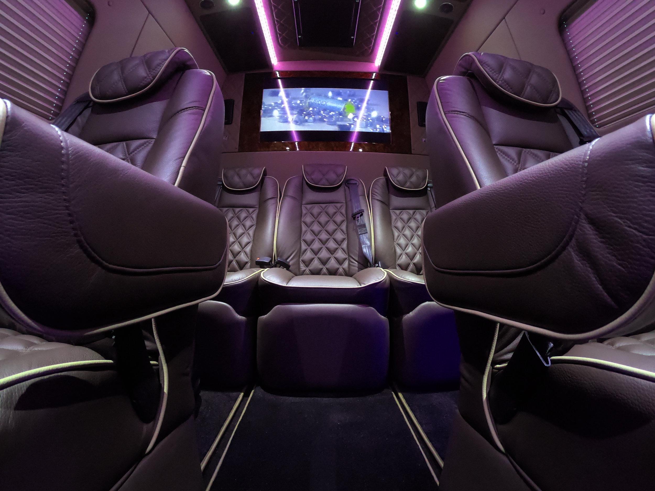 Inside the luxury Monaco Sprinter