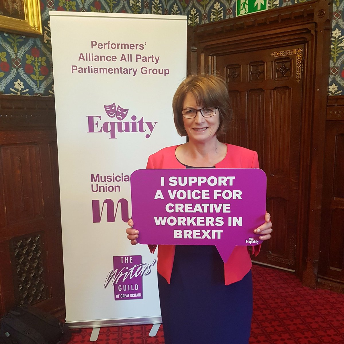 Any Brexit deal must protect our creative industries.