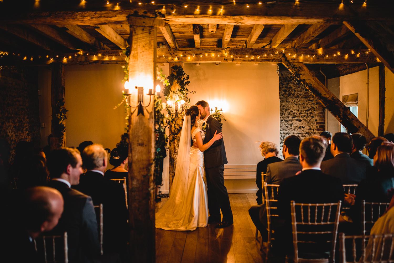 Granary Estates wedding photo - wedding ceremony