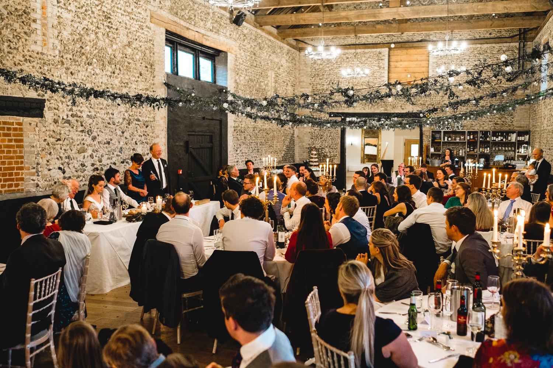 Granary Estates wedding photo - wedding speeches