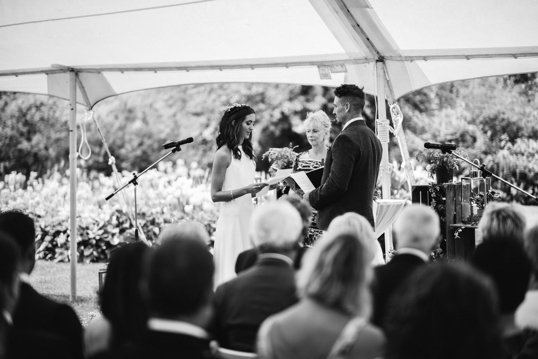 Newhall Estate Edinburgh Wedding - wedding ceremony