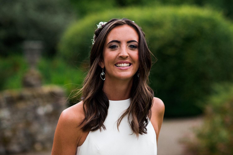 Newhall Estate Edinburgh Wedding - bride portrait