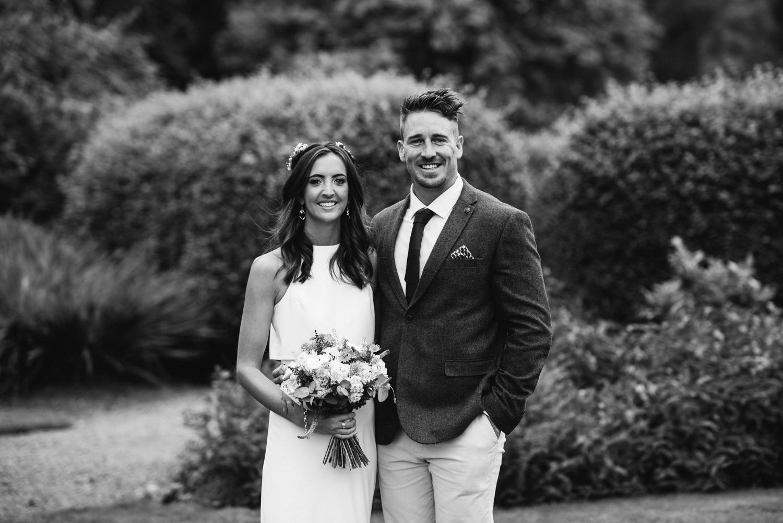 Newhall Estate Edinburgh Wedding - bride and groom