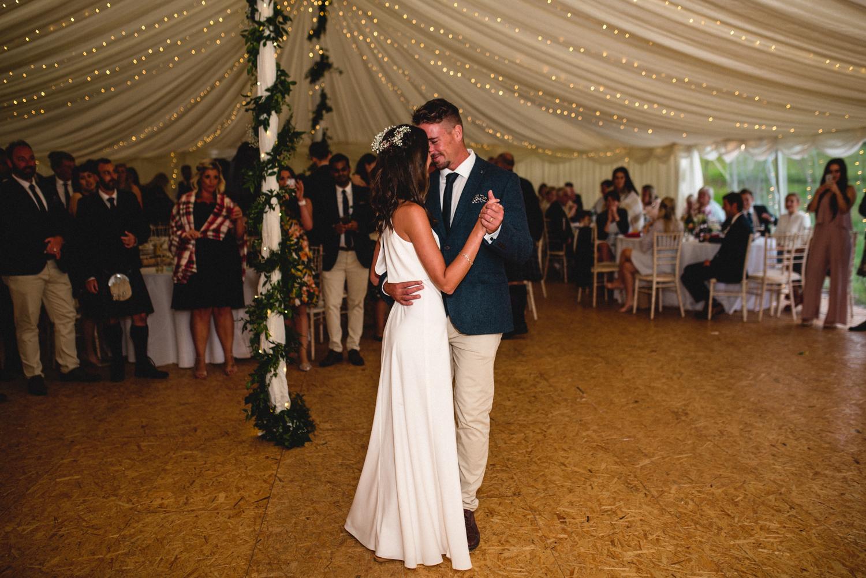 Newhall Estate Edinburgh Wedding - the first dance