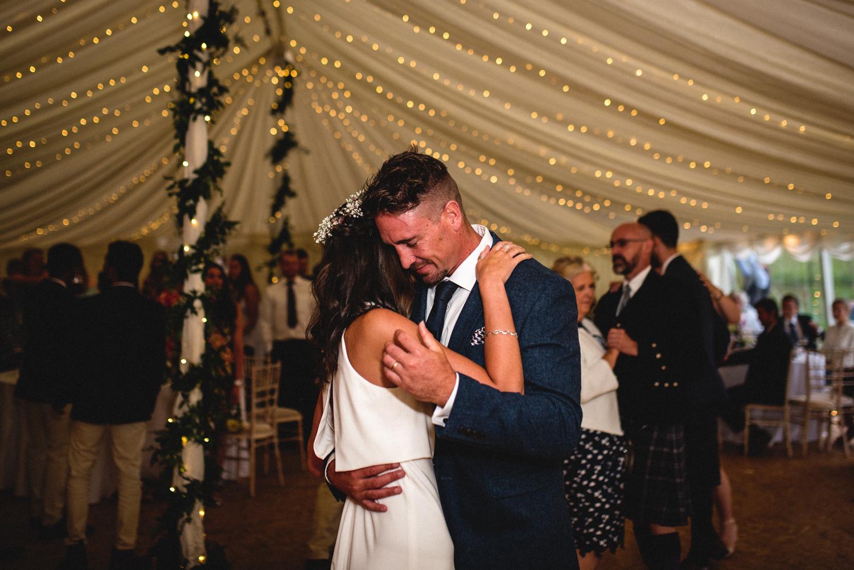 Newhall Estate Edinburgh Wedding - first dance