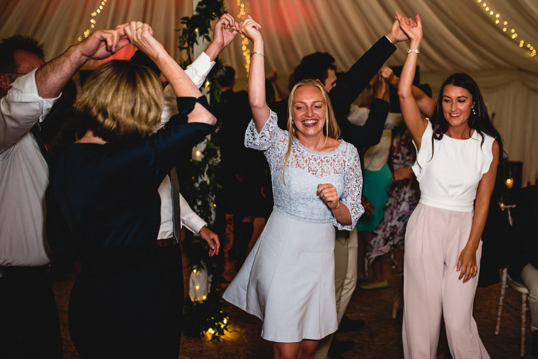 Newhall Estate Edinburgh Wedding - traditional dancing