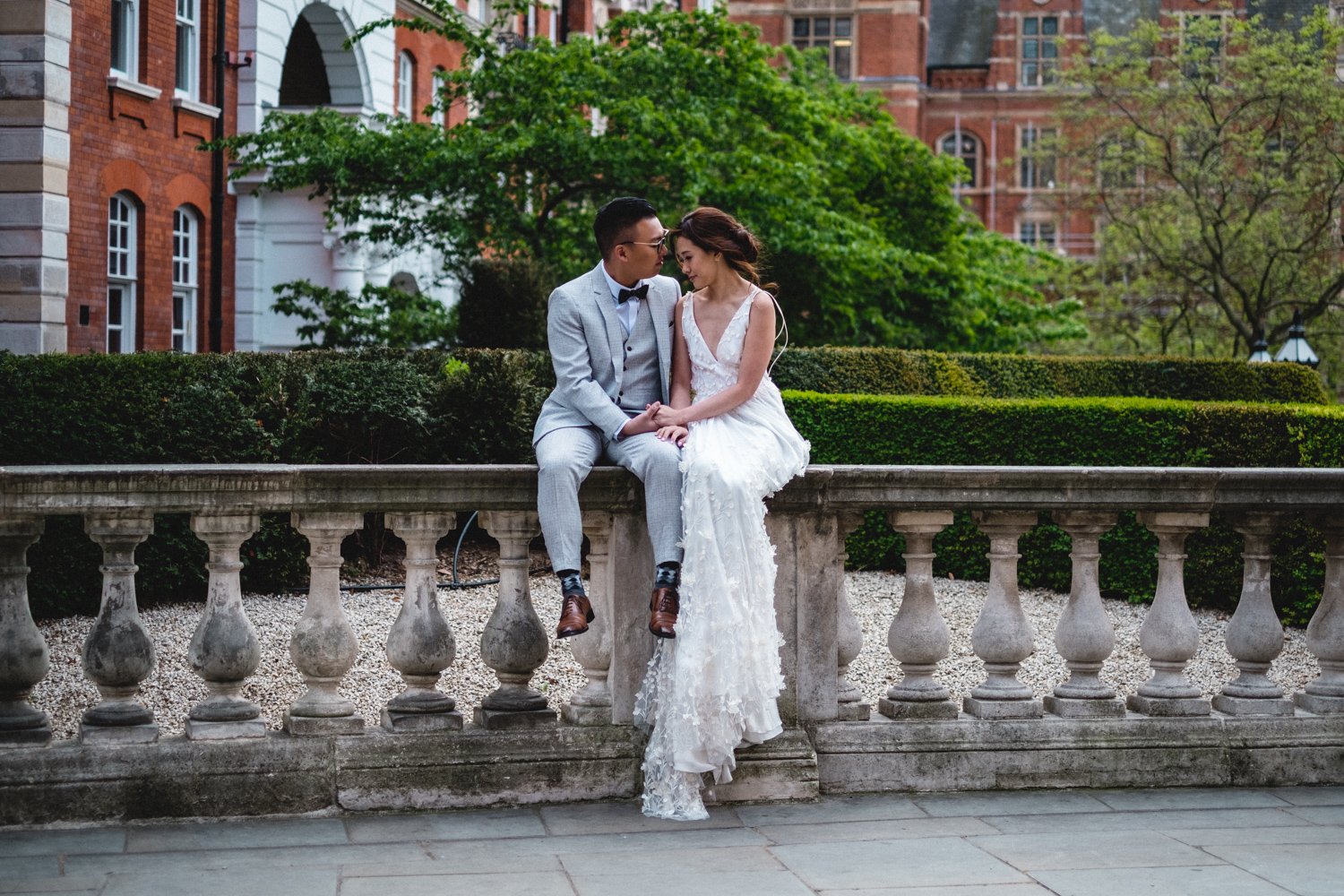 London pre-wedding photos - kensington