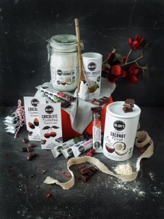 A selection of Dr. Coy's healthy products