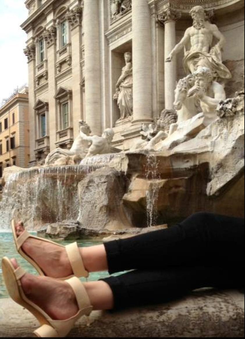Trevi Fountain, Italy - With Love,Shaizy ShoesHappy Customer