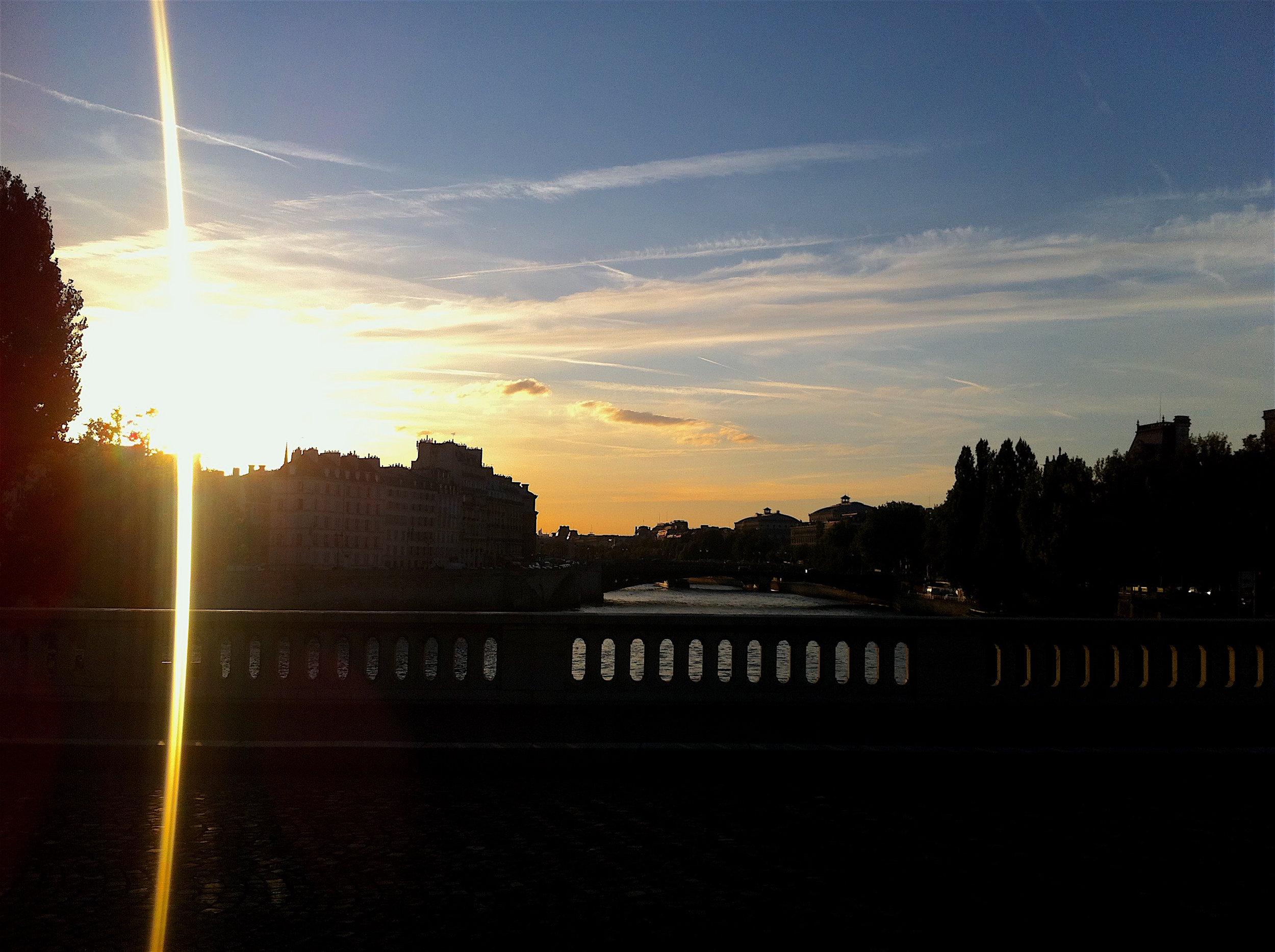 paris river seine sunset.JPG