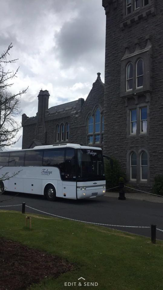 Foley Travel is a family run company that have been providing a top quality bus service since we commenced operating in 1994.  We provide a high level of service and commitment to our Customers. The business has grown as a result of our commitment to Customer satisfaction, reliability, professional, friendly, experienced, competent and committed drivers.  Foley, travel, Galway, coach, hire, bus, rental, tour, group, corporate, school tour, private, mini bus, chauffeur, limousine, carfare, Connemara, nationwide, wild Atlantic way, pickup, drop-off, airport, destination, holiday, sightseeing, Dublin, Belfast