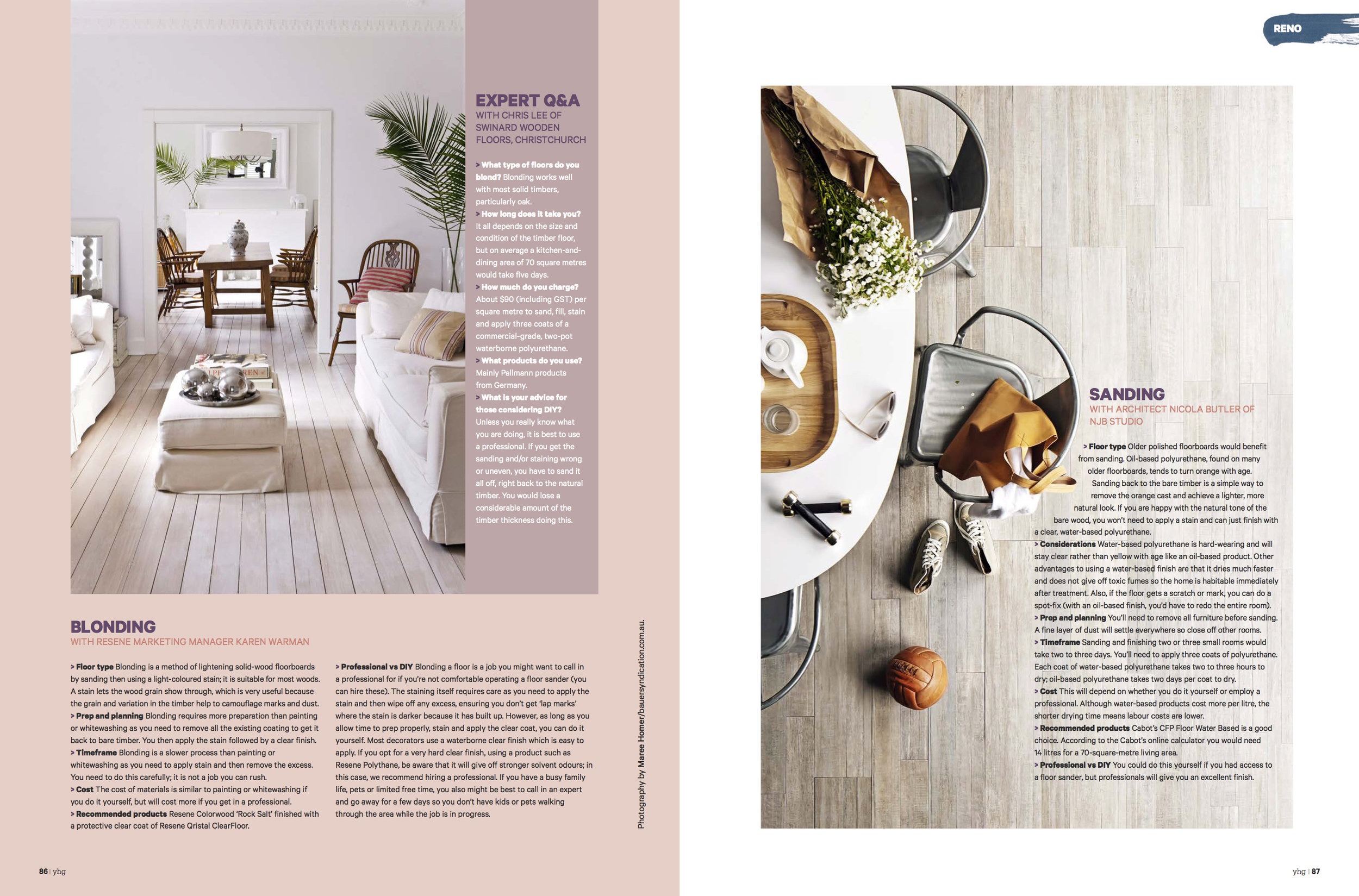 Layout from Your Home & Garden NZ - get the current issue to read the full article