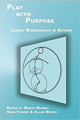 Play with Purpose - The book is a manifesto of hope: using Lessac Kinesensics to activiate and collectively vision an artistic and pedagogical future greated towards human flourishing.