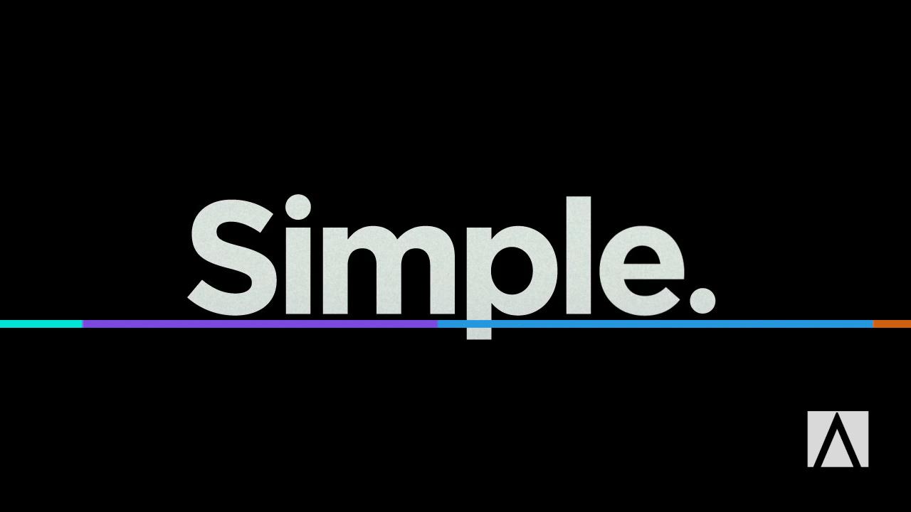 Simple - Summer 2014