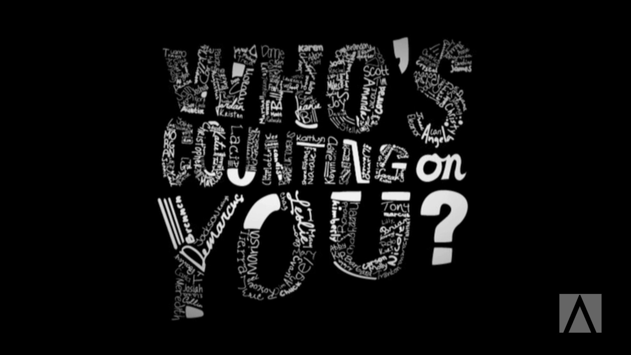 Who's Counting on You? - September 2015