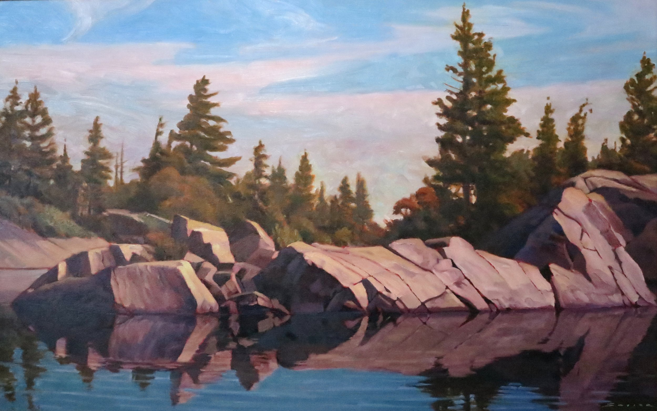 Georgian Bay, 24 x 36, oil