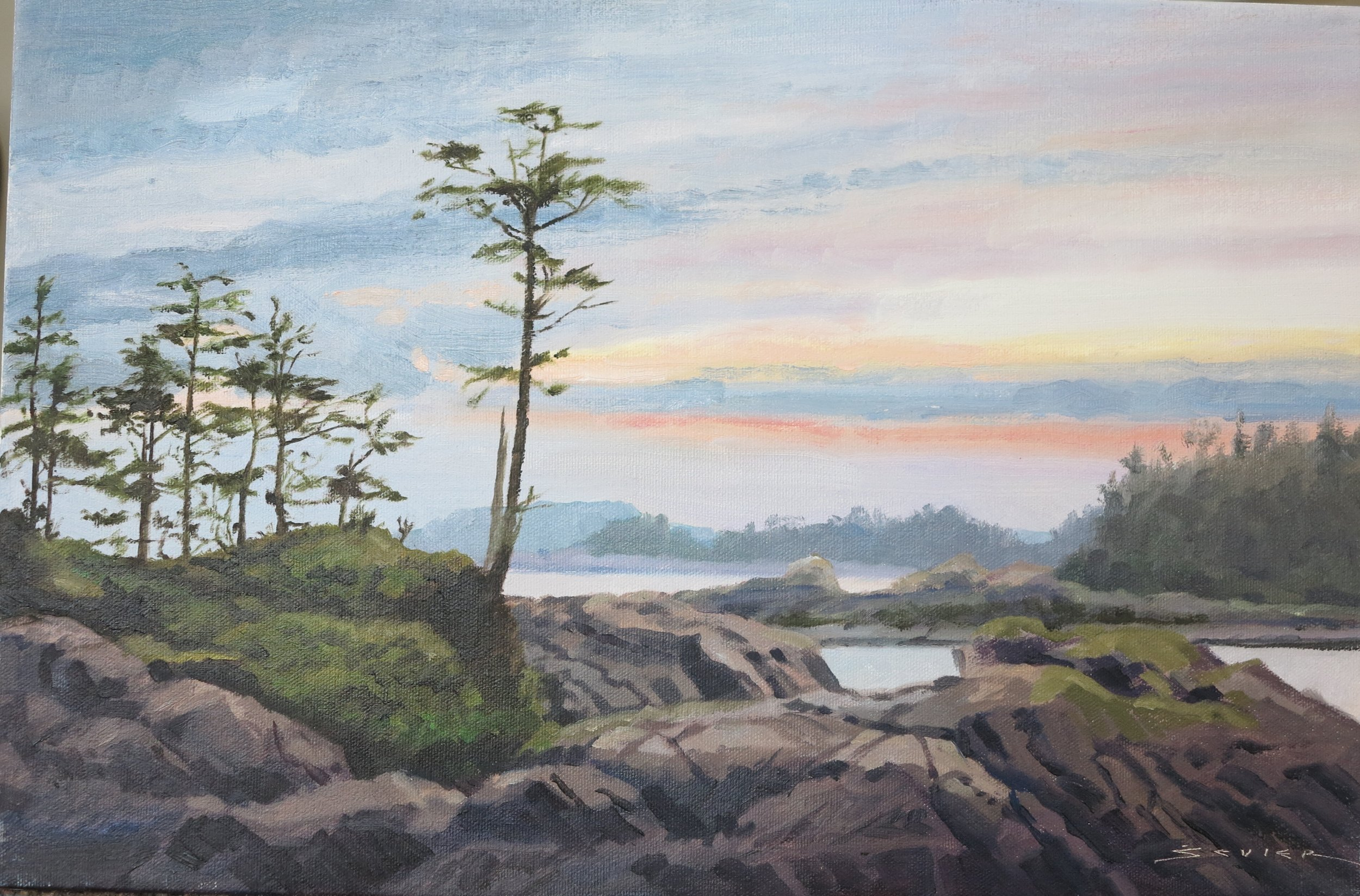 Wild Pacific Trail/Uculet Vancouver Is., 12 x 18,